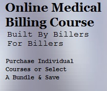 medical billing online training image