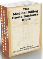 medical billing home business bible cover art