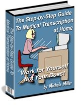 Medical Transcription eBook - medical transcription at home Image