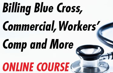 Medical billing ebooks - Billing Blue Cross, Commercial, Workers' Comp course image